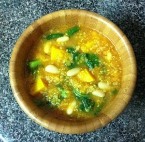Rosemary Quinoa, Bean & Butternut Squash Stew